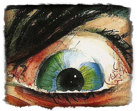 Giants Eye Illustration for Newsletter Section